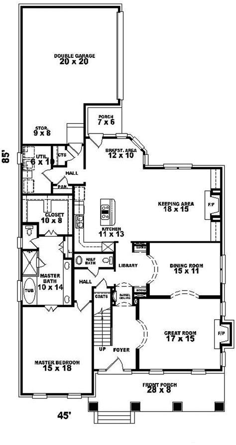 tudor style floor plans sunbridge tudor style home plan 087d 0804 house plans and more
