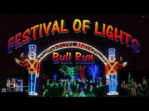 festival of lights bull run holiday christmas centreville