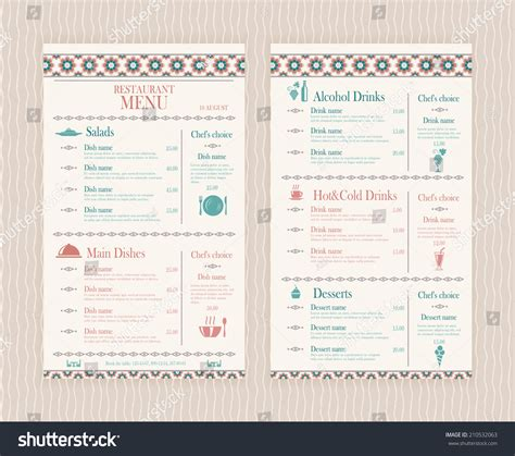 menupro menu design samples from menupro menu software more than