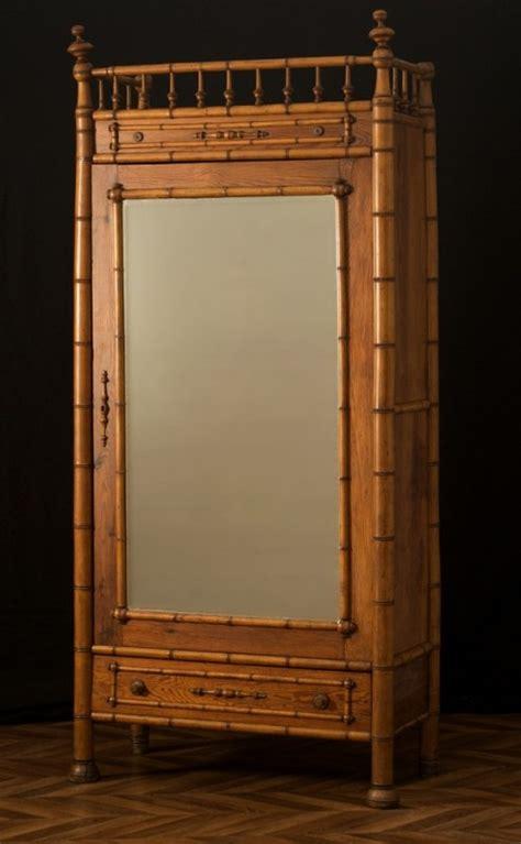 armoire en bambou armoire vintage meubles anciens armoire ancienne en