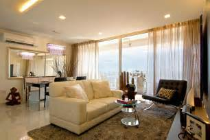 decorating with photos modern living room apartment in singapore interior