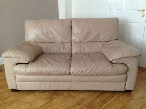 soft leather sofas only 5 yrs 2 seat colour