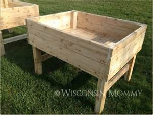 Raised Garden Beds On Legs 30 Raised Garden Bed Ideas Tipsaholic