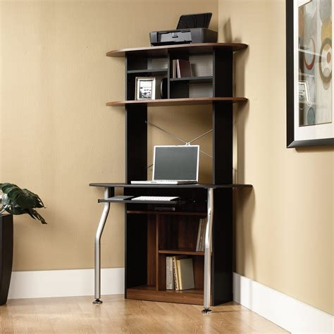 tower corner computer desk with hutch pros and cons of buying a corner computer desk the