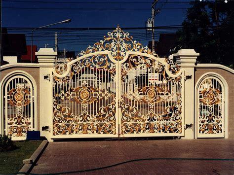 iron gates design gallery kerala home dezign