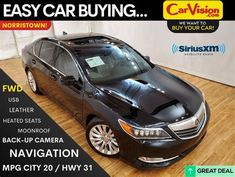 pre owned  acura rlx base wtechnology package