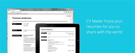Cv Creator Free by Create Professional Resumes For Free Cv Creator