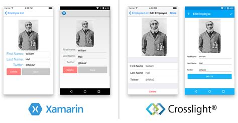 xamarin layout exles migrating from xamarin forms to crosslight app intersoft