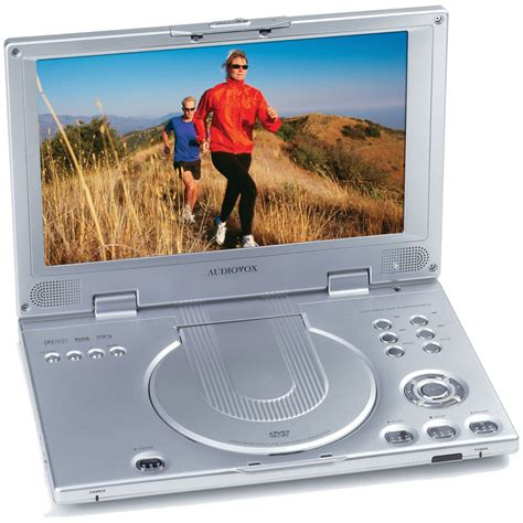 what format does a normal dvd player read audiovox d2011 10 2 quot 16 9 portable dvd player d2011 b h