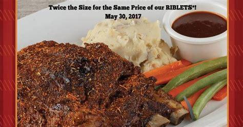 Promo Libby Slabber Rib manila shopper rub ribs slab day may 30 2017