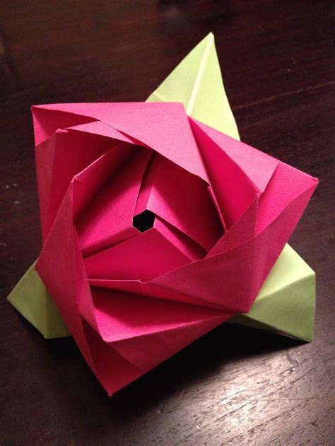 Box Flower Origami - 100 best origami images on paper oragami and