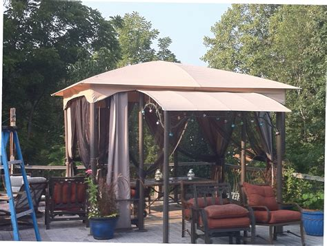 outdoor gazebo canopy deck canopies and gazebos gazebo ideas