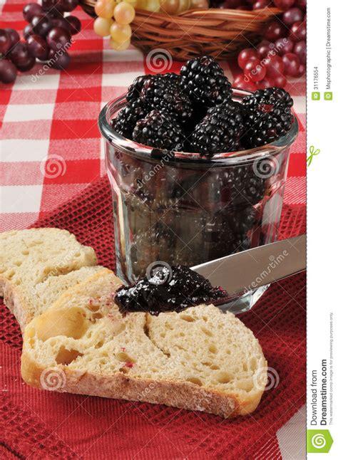 themes blackberry jar fresh blackberry jam stock images image 31176554