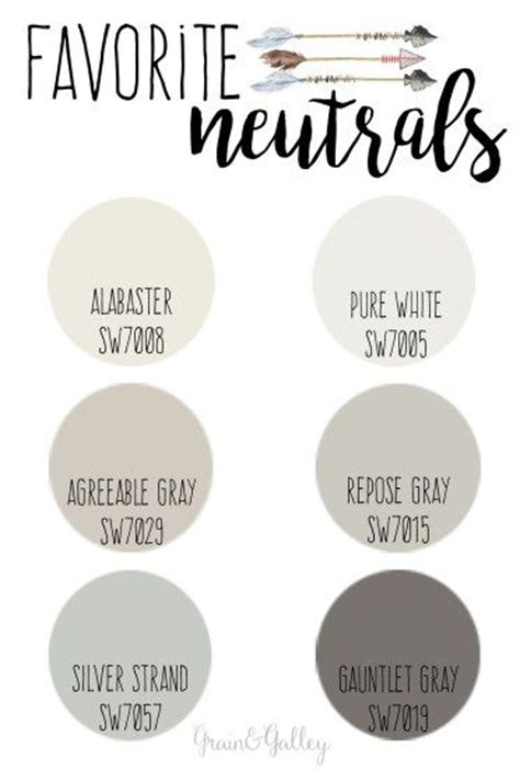 best sherwin williams neutral colors best 10 furniture paint colors ideas on
