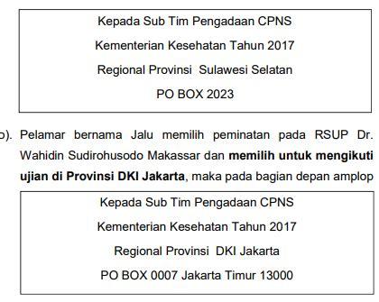 Contoh Surat Lamaran Cpns Kemenkes 2017 by Contoh Lamaran Cpns Kemenkes Contoh Surat Lamaran