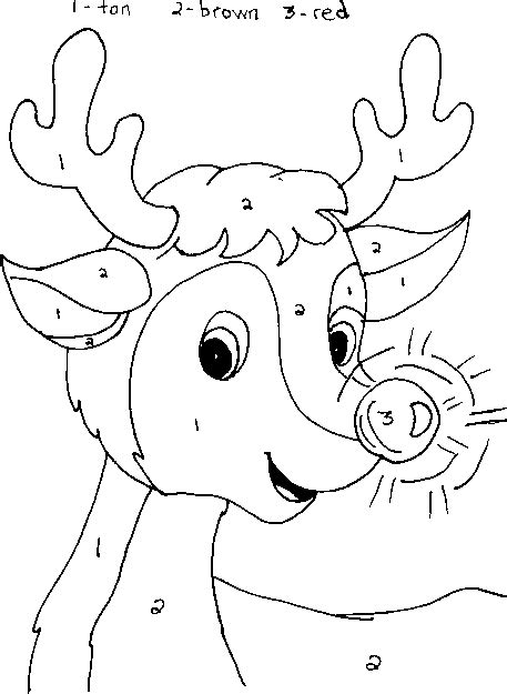 coloring pages by numbers for christmas coloring pages christmas math color by number new