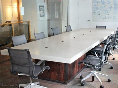 Concrete Conference Table 30 Best Images About Conference Room On