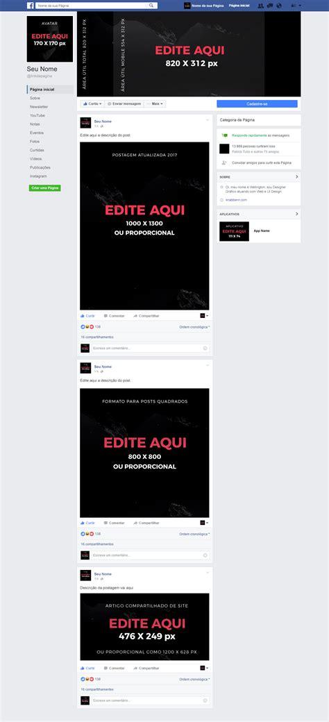 novo layout nf e 2016 template do novo layout de p 225 gina do facebook para download