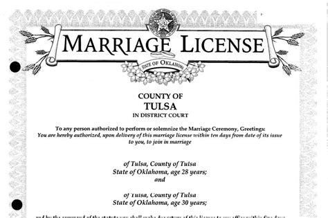 Oklahoma Marriage License Records Cost Of Marriage License In Tulsa Ok Version Free Software Blogsgallery