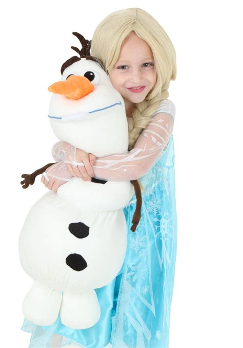 Olaf Stuffed Pillow by Frozen Olaf Plush Pillow