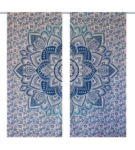 hippie tapestry curtains popular mandala window curtains hippie drapes for home decor