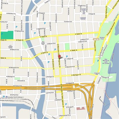milwaukee on map milwaukee metro map travelsfinders