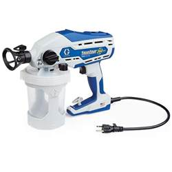 Airless Spray Painting - graco truecoat 360 dsp airless paint sprayer 16y386 the home depot