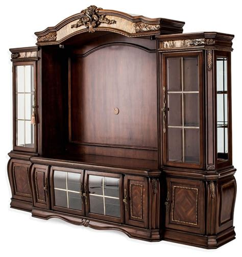 pier cabinet entertainment center aico furniture oppulente entertainment center with piers