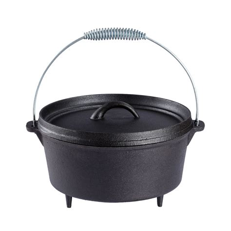 Cooking Pot oven outdoor cooking pot bushcraft cast iron
