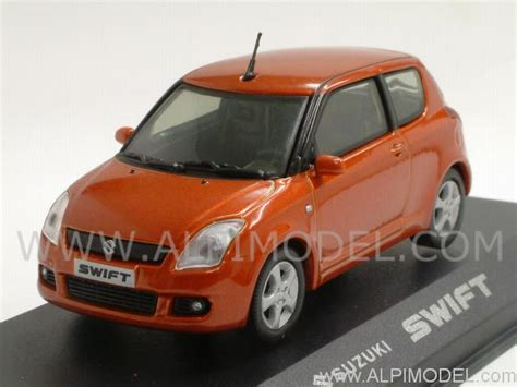 Orange Suzuki Rietze Suzuki Orange Metallic 1 43 Scale Model