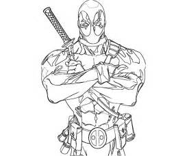 deadpool coloring deadpool coloring pages az coloring pages
