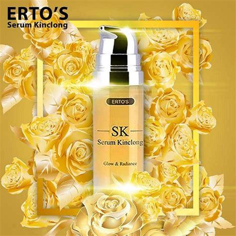 Serum Kinclong Ertos Untuk Kulit Berminyak ini dia serum terbaik untuk memutihkan wajah anda