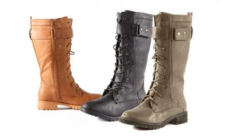 groupon boot c carrini mid shaft combat boots groupon goods