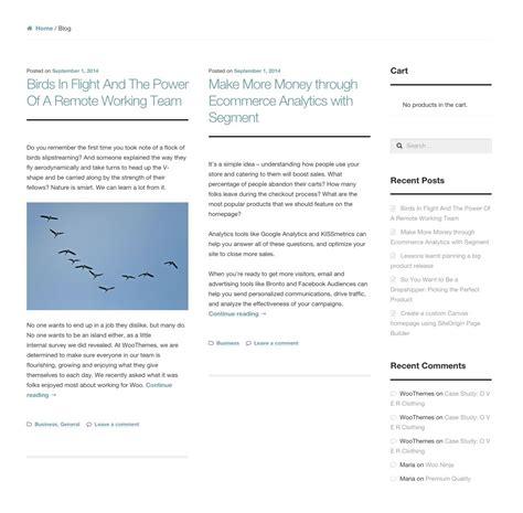 magazine layout blog storefront blog customizer woocommerce