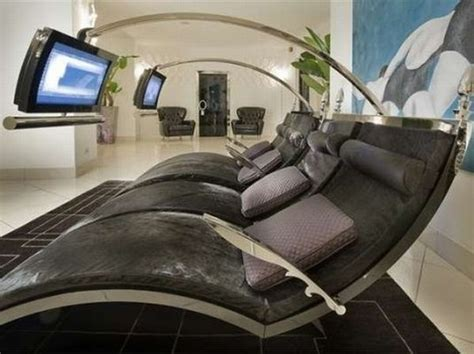 Decorating Ideas For New Home gothic style lounge with lcd by ipe cavalli