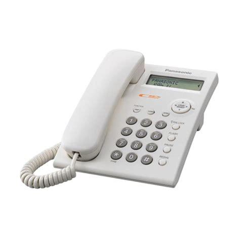 Telepon Rumah Kantor Kabel Sahitel S77 jual panasonic kx tsc11 kabel single line telepon rumah