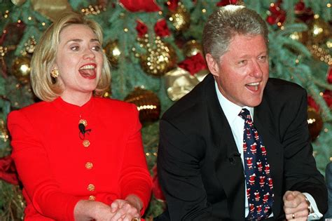 clinton s clintons christmas in the 90s how bill hillary