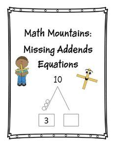 Math Mountain Worksheets 1st Grade by Here S A Set Of Vocabulary Designed For Use With Grade 3