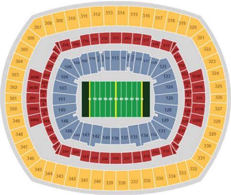 metlife stadium seating chart giants nfl football stadiums new york giants stadium new