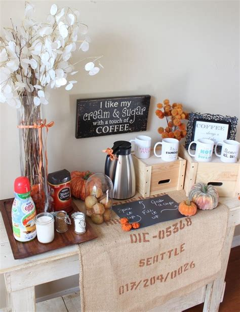 pansy breakfast on pinterest drink stations table 33 best images about coffee station on pinterest pumpkin