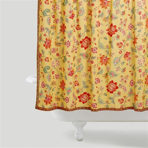 world market shower curtain marigold shower curtain world market