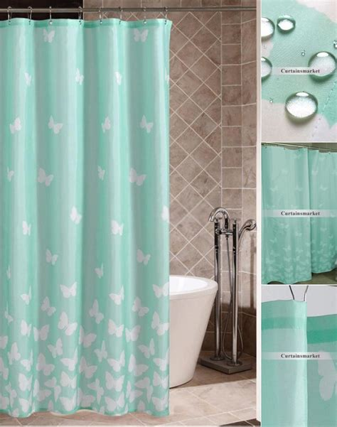 solid blue shower curtain solid blue shower curtain curtain menzilperde net