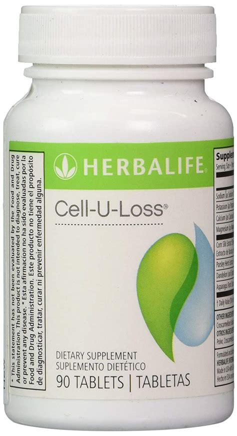 Cell U Loss Celluloss herbalife cell u loss health supplment 90 tablets