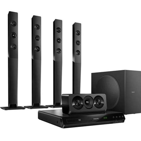 Home Theater Polytron Hdmi home theater philips htd5570 78 5 1 canais dvd player karaok 234 entrada usb e sa 237 da hdmi