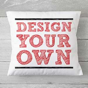 Design Your Own Throw Pillow by Custom Throw Pillow 18 Quot Design Your Own