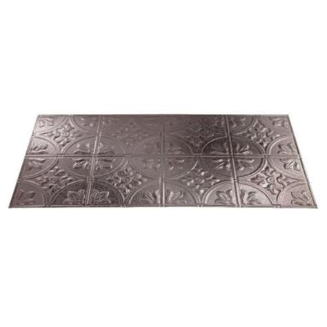 ceiling tiles at home depot fasade traditional 2 2 ft x 4 ft galvanized steel lay in