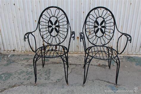 sillones 2 mano 2 sillones sillas de jardin en hierro hueco pin comprar