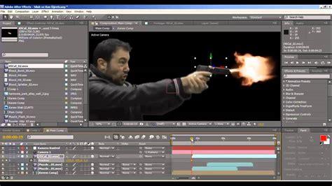 film pendek after effect after effects tutorial t 252 rk 231 e silah ve kan efekti