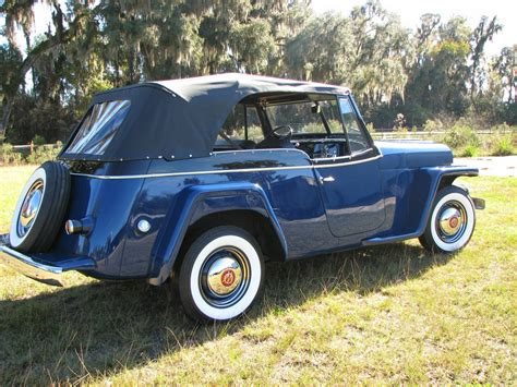 willys jeepster all american classic cars 1950 willys jeepster