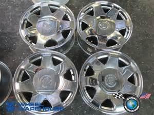 Factory Cadillac Rims Four 03 06 Cadillac Escalade Esv Ext Factory 17 Chrome
